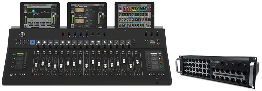 AXIS Digital Mixing System Front iPad Plane